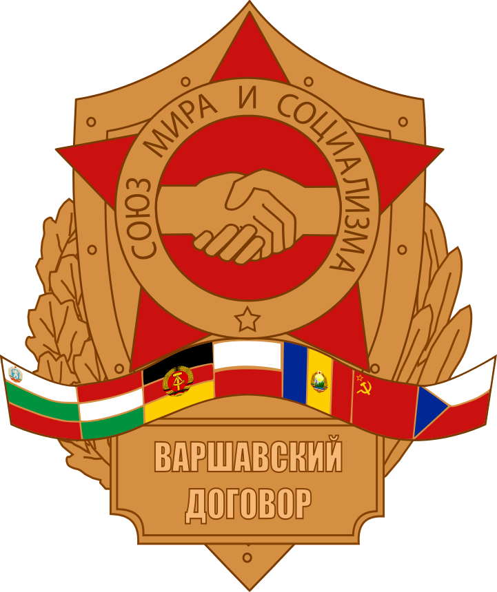 [Warsaw Pact badge