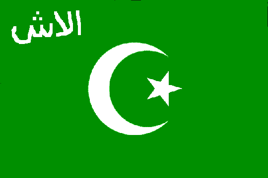 [Alash-Orda military flag in
